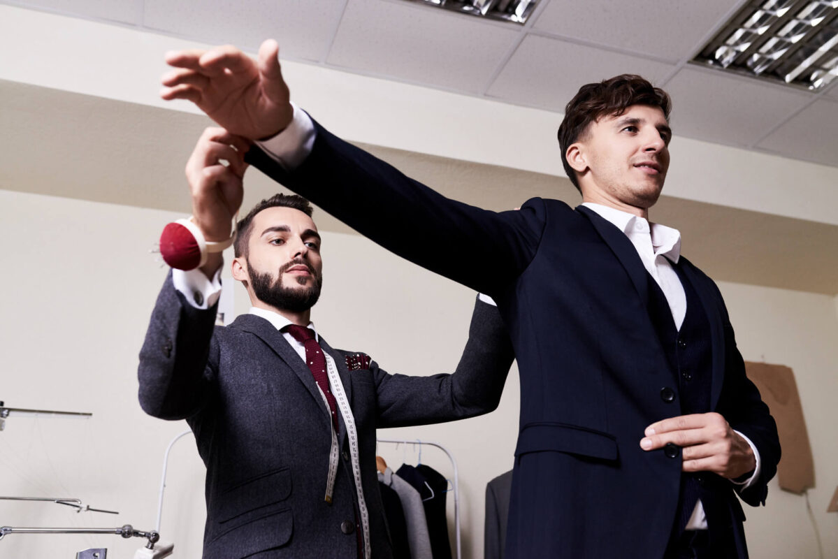 Checking Suit Fitting