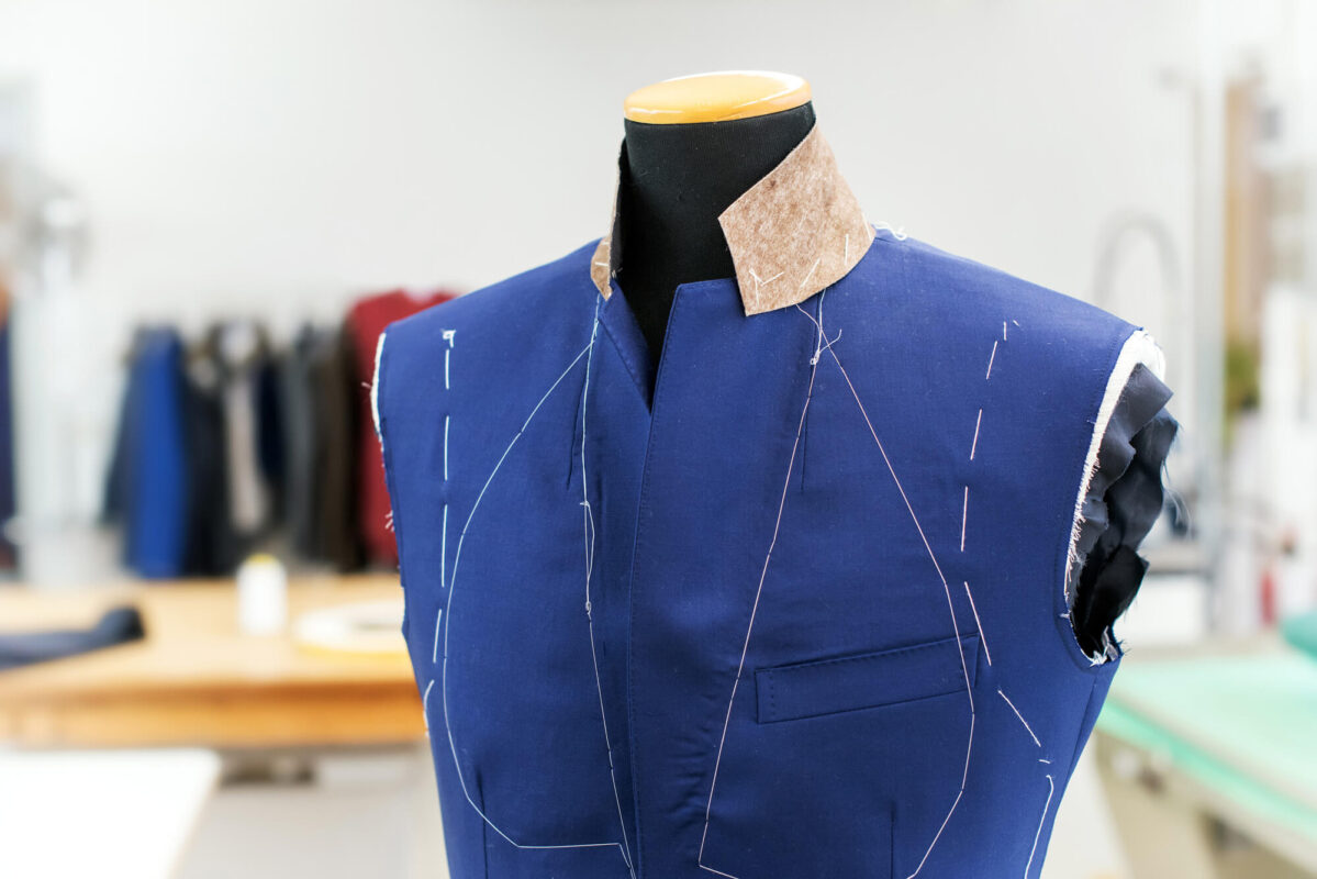 Partially Completed Blue Jacket