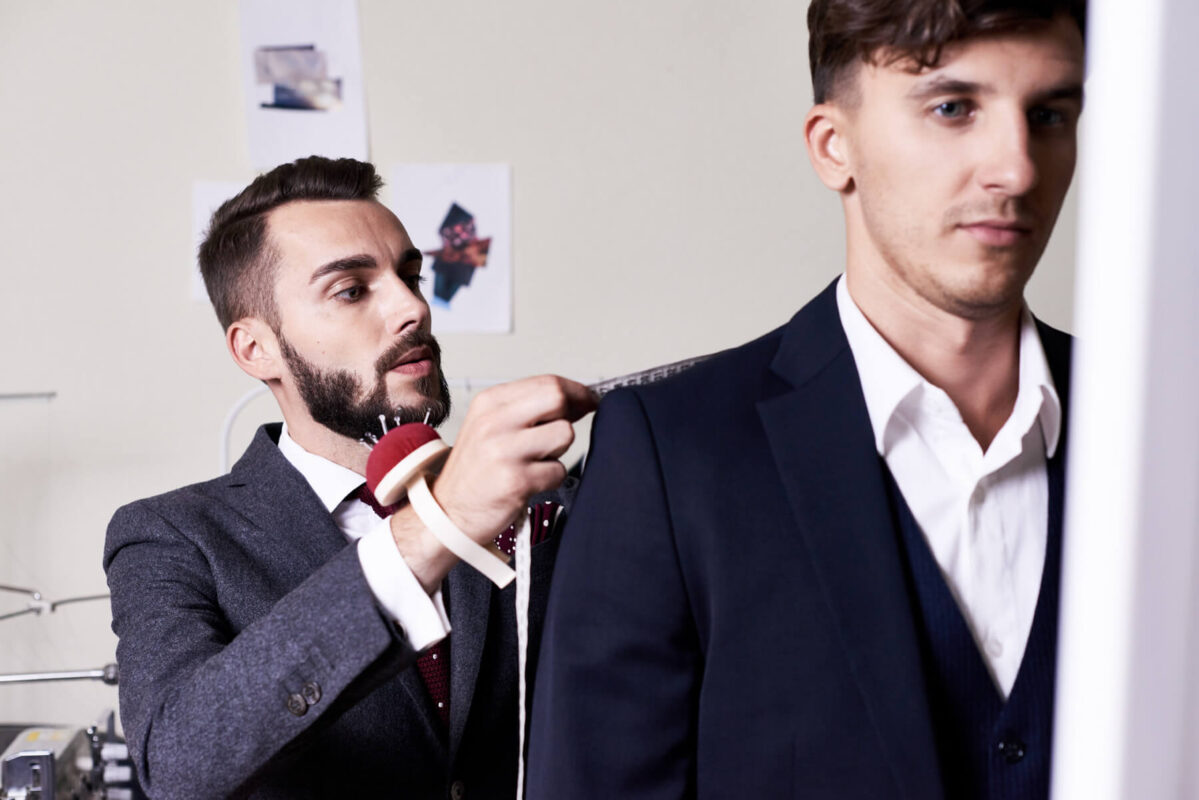 Mearsuring Suit Fitting
